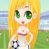 Futbol Kızı Giydir